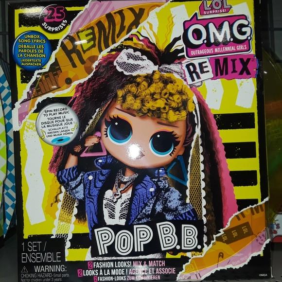 Lol Surprise OMG ReMix Pop B.B.!